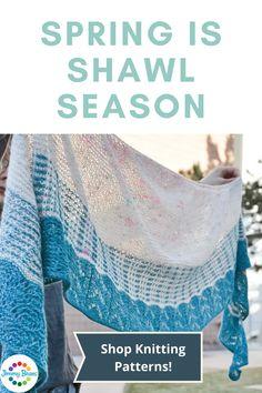 Shop shawl knitting and crochet patterns on Jimmy Beans Wool! Shawl Patterns, Crochet Patterns, Crochet Shawl, Knit Crochet, Shawls, Beans, Wool, Knitting, Handmade