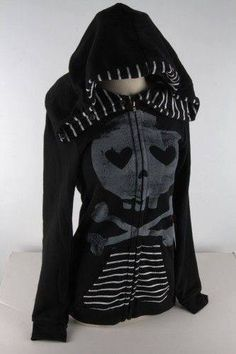 abbey dawn skull jacket