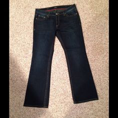 "PRICE DROP-Bootleg Denim Washed but never worn. Can't wear low cut inseam 31"". ANA Jeans Boot Cut"