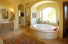american bathroom interior and model