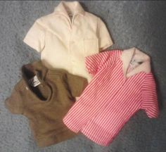 VINTAGE BARBIE, KEN DOLL CLOTHING LOT~ 1960's, NICE!  Free Shipping (2)