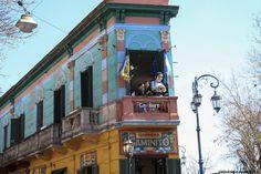Caminito, La Boca - Paisajes on Behance