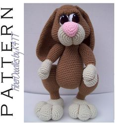 INSTANT DOWNLOAD : JellyBean the Amigurumi door FiberDoodlesbyK4TT