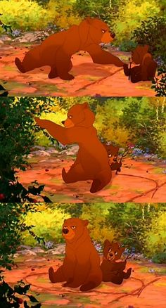 Second favorite Disney movie.. brother bear.