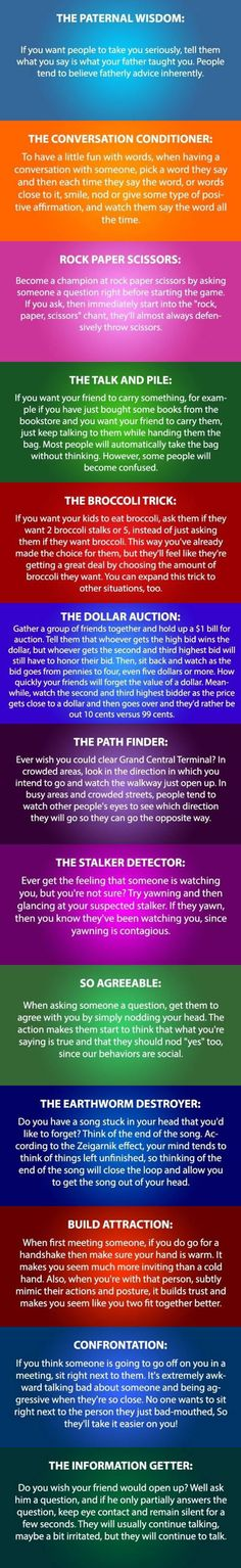 Some Psychology Tricks You Need To Try