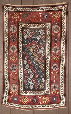 19th century Karabaugh or Gendje prayer rug.  ARTS 2009 exhibitor Ron Hort | JOZAN