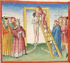 Bibel AT, dt.: Könige, Paralipomenon I und II, Esra, Tobias, Judith, Esther, Hiob — Stuttgart (?) -  Werkstatt Ludwig Henfflin, 1477 Cod. Pal. germ. 17 Folio 267r