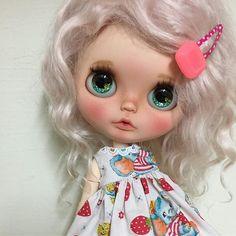 I love her little sweet dress