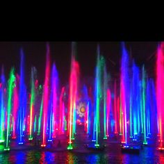 This was taken at the World of Color show in Disneyland