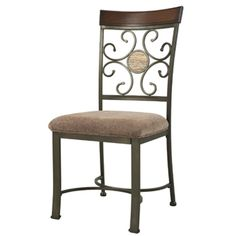 2 Whitman Dining Side Chairs, 18 Seat Height PWL-236-434