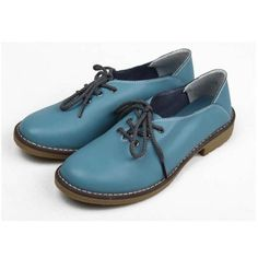 Genuine Leather Women Flats Casual Shoes Lace Up Moccasins Feminine Shoes