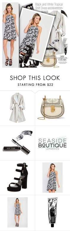 """""""Blind Date Style"""" by vanjazivadinovic ❤ liked on Polyvore featuring Chloé, Bobbi Brown Cosmetics, Stuart Weitzman, polyvoreeditorial, Poyvore and seasideboutique"""
