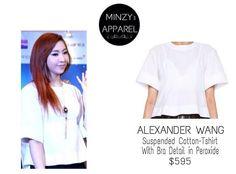 MINZY | ALEXANDER WANG Shirt
