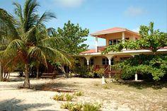 Placencia house rental - Bella Placencia seaside with almond tree, sea grape, coconut & barbeque