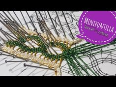 Lace Heart, Lace Jewelry, Bobbin Lace, Make It Yourself, Crafts, Youtube, Doilies, Bobbin Lacemaking, Crocheting