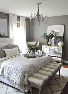 Adorable Modern Farmhouse Bedroom Decor Ideas 03