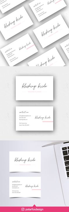 Printable elegant business card in landscape orientation for your luxury business or chic brand Luxury Branding, Branding Design, Elegant Business Cards, Social Media Template, Clean Design, Brand You, Crowd, Print Design, Place Card Holders