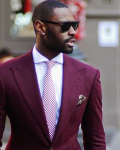 all credit due to @ davidson_frere Sharp Dressed Man, Well Dressed Men, Black Dandy, Suit Fashion, Mens Fashion, Traje Casual, Mode Shoes, Grown Man, Tailored Suits