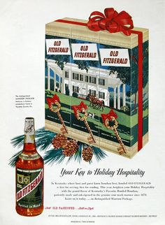 1951 Old Fitzgerald ad (from #RetroReveries)