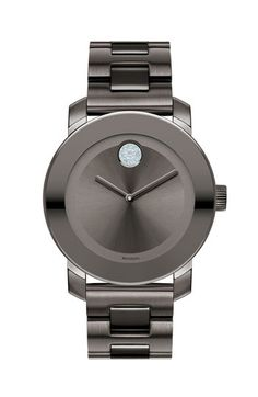 Movado 'Bold' Crystal Marker Bracelet Watch available at #Nordstrom