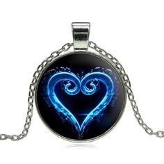 Kingdom Hearts Blue Necklace Pendant - OtakuForest.com