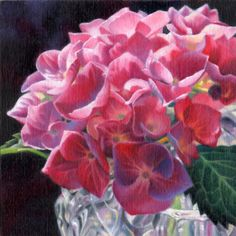 flower, floral, oil and watercolor paintings