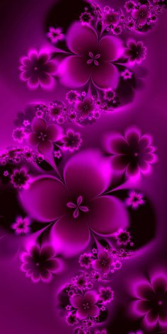 Silver and Blue Flowers made with ultra fractal This is a pink version of these flowers featured here Flower Phone Wallpaper, Purple Wallpaper, Butterfly Wallpaper, Cellphone Wallpaper, Colorful Wallpaper, Wallpaper Backgrounds, Wallpaper Desktop, Girl Wallpaper, Disney Wallpaper