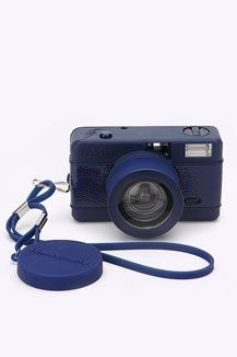 The essential: Holiday capturing equipment (Lomography Blue Fisheye Camera) Total = £387.94 (£45)