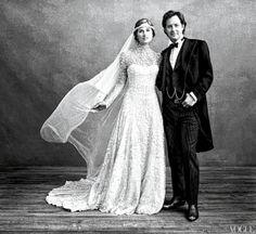modern prairie wedding dress - Google Search
