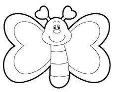 Resultado De Imagen Para Mariposa Para Colorear Preescolar Dibujos Para Colorear Mariposas Dibujos De Mariposas Infantiles Mariposas Para Colorear