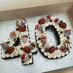 Number Birthday Cakes, Birthday Cake For Mom, Number Cakes, Birthday Cakes For Women, 50th Birthday, Chocolate Wafer Cookie Recipe, Chocolate Wafers, Cookies Et Biscuits, Cake Cookies