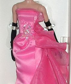 2016 Mattel GLAM GOWN Barbie Doll Gold Label POSEABLE Silkstone Body FREE SHPG! | eBay