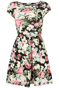 flower dress by topshop