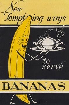 Vintage banana ad