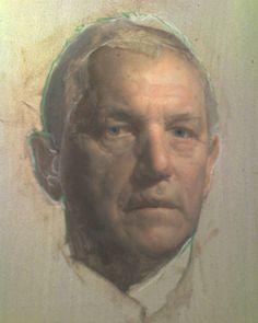 Portrait study by Jacob Collins
