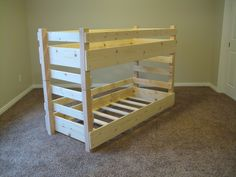 Kids Toddler Bunk Beds by LiL'Bunkers (IT'S CRIB SIZE!!!)