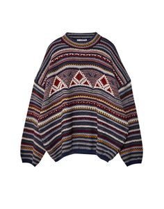You can find 1 Multicoloured jacquard sweater for only in Pull Bear. Enter  now and discover this and many other unique Pull Bear pieces d3a88daa5a30