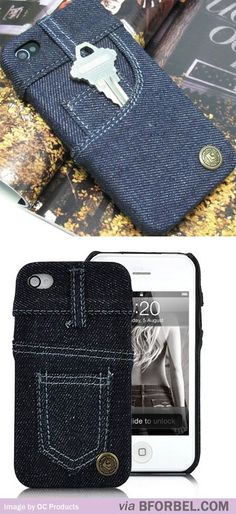 Skinny Jeans iPhone Cover. I have a pink one on my iPad mini!!