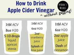 If you want to detox, and you want to drink the Lemon Water Elixir with Bragg's Raw Apple Cider Vinegar but you feel like it makes you gag then….. here is the solution.  FACT - ACV (apple cider vinegar {RAW} improves dogestion, supports weight loss, reduces kidneys stones, destroys biofilm (where nasty pathogens live), improves liver function, detoxification pathways and gives you an energy boost.  www.rachelswellness.com