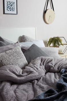 Primark has released teddy fleece bedding that will keep you cosy and warm all winter long. Here are a few of our favourite teddy fleece bedding sets on the high street. Decor, Furniture, Home Decor Accessories, Home Decor, Bedroom Furniture, Bed, Country Bedroom, Bedroom, Cozy Room Decor