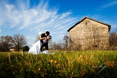 Wedding photos at an old Amish barn in Indiana.  http://markhawkinsphoto.com