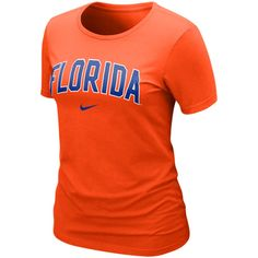 fbb0583b19e6 Nike Florida Gators Womens Arch Crew T-Shirt - Orange
