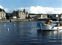 Oban, Scotland.  One of my favorite places on the west coast.  Google Image Result for http://www.caledoniantravelinc.com/images/oban.gif