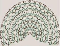 Lindevrouwsweb: Gehaakte omslagdoek/stola