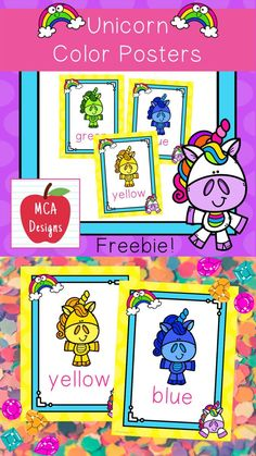 This set of camping themed color posters are part of my Unicorn Classroom Décor collection. Each poster is accented with bright colors and unicorn themed graphics :) Color Posters Included: blue red yellow green purple orange pink Gray Grey #teacherspayteachers #tpt Color Posters, Poster Colour, Classroom Décor, Classroom Posters, Orange Pink, Green And Purple, Yellow, Blue, Hands On Activities