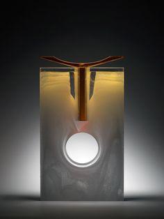 "*Art Glass - ""Atlas"" by Bruno Romanelli"
