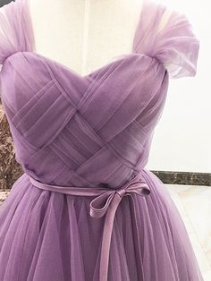 Purple Sweetheart Stretch Back Tulle Homecoming Dress Purple Sweetheart Stretch Back Tulle Homecoming Dress Party Wear Dresses, Homecoming Dresses, Indian Gowns Dresses, Evening Dresses, Pretty Dresses, Beautiful Dresses, Designs For Dresses, Dresses Kids Girl, Saree Dress