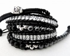 Bracelet Chacha noir.