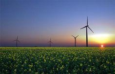 Genuinely love wind turbines...