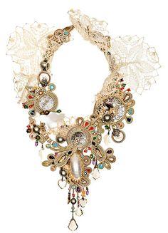 hand sewn jewellery